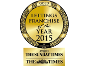 Lettings Franchise of the Year 2015 - Gold