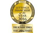 Lettings Franchise of the Year 2016 - Gold