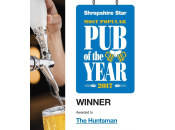 Most Popular Pub of the year 2017