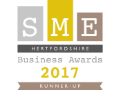 East Herts Business Of The Year Runner Up 2017