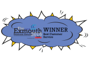 Best Customer Service 2016 - Exmouth Chamber Award