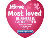 Most Loved Business In Gloucester 2013