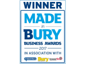 Winner - Made in Bury Business Awards 2017
