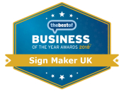 BOTY sign maker in the UK winner