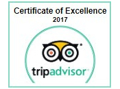 tripadvisor Cerificate of Excellence 2017