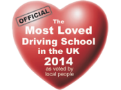 The Most Loved Driving School in the UK 2014