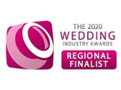 The 2020 Wedding Industry Awards Regional Finalist