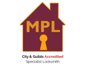 City & Guilds Accredited Specialist Locksmith.