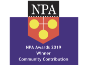 NPA Awards 2019 - Winner Community Contribution