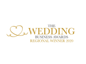 The 2020 Wedding Business Awards Regional Winner