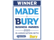 Winner - Made in Bury Business Awards 2020