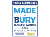 Highly Commended Made in Bury Business Awards 2020