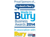 Sponsor - Made in Bury Business Awards 2014