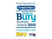 Sponsor - Made in Bury Business Awards 2013