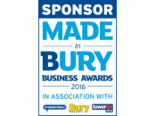 Sponsor - Made in Bury Business Awards 2016