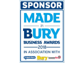 Sponsor - Made in Bury Business Awards 2018