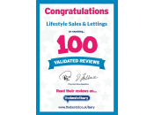 100 Validated Reviews Certificate