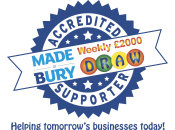 Made in Bury Business Draw Supporter