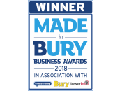 Winner - Made in Bury Business Awards 2018