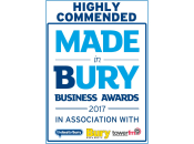 Highly Commended Made in Bury Business Awards 2017