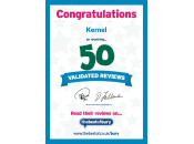 50 Validated Reviews