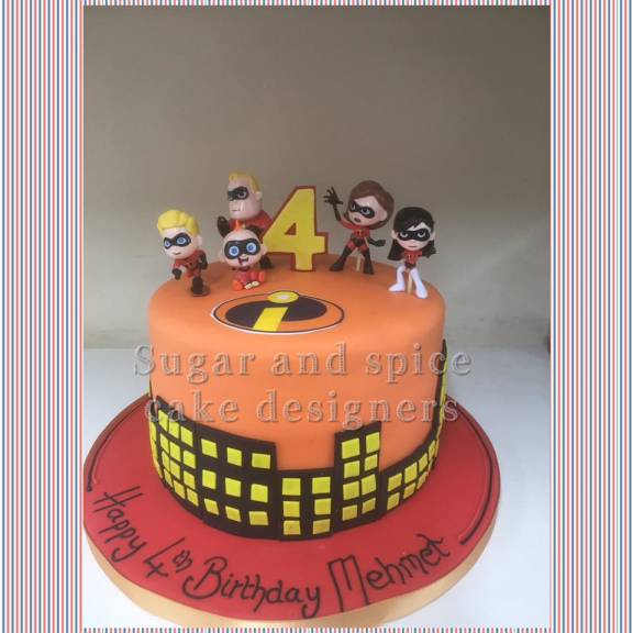 Sugar and Spice Cake Design - Walsall