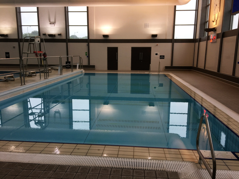 Cannock leisure centre swimming cannock for Movable swimming pool floor australia