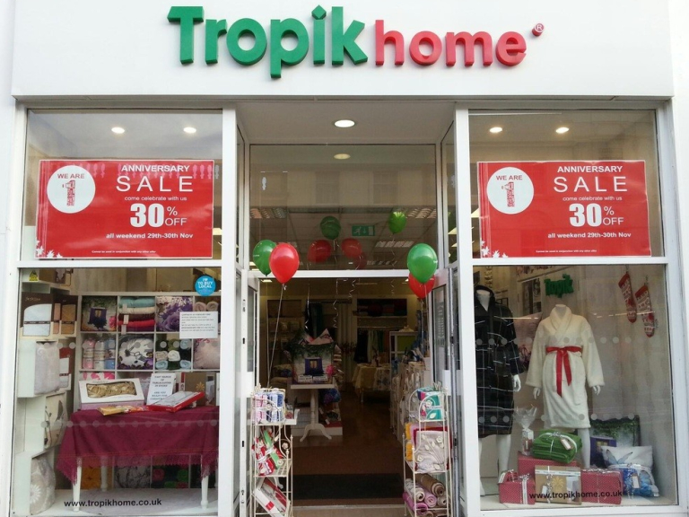 Tropik Home Blinds Shower Curtains Linen Store In Brighton
