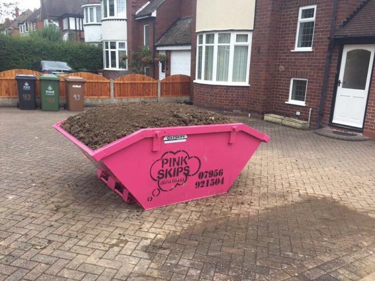 Pink Skips Walsall Walsall