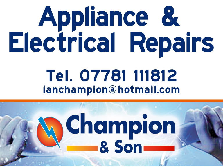 Champion & Son Appliance and Electrical Repairs