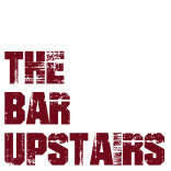 the bar upstairs