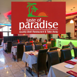 The Taste of Paradise Quality Balti Restaurant & Take Away