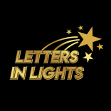 Letters in Lights
