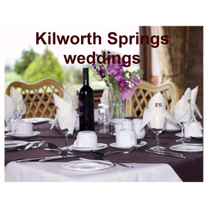 Kilworth Springs Weddings