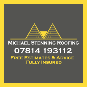Michael Stenning Roofing Logo