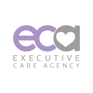executive, care, agency, lichfield, logo