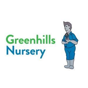 greenhills, nursery, logo