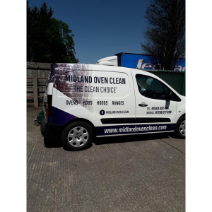 wrapped, van, midland, oven, clean
