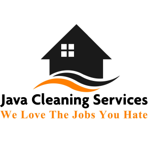 java cleaning services logo