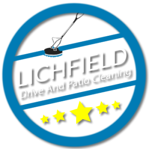 lichfield, drive, and, patio, cleaning, logo