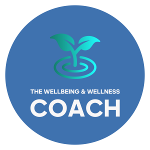 the, wellbeingandwellnesscoach, colour, logo
