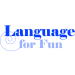 language, for, fun, logo