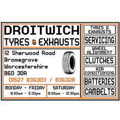 Droitwich Tyres & Exhaust (Bromsgrove) Ltd