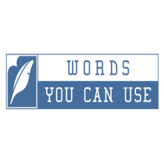 Words You Can Use