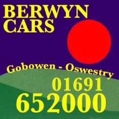 Berwyn Cars - Taxis & Minibus serving Oswestry and beyond