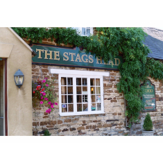 The Stags Head - a wedding venue in the country.