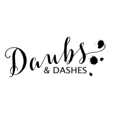 Daubs and Dashes Luxury Silk Scarves