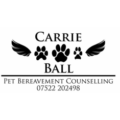 Carrie Ball Pet Bereavement Counselling ACC Dip PBC, Cert Pet Bereavement BC