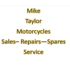 Mike Taylor Motorcycles