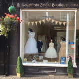 10% OFF selected bridal wear at  Lovebirds Bridal Boutique